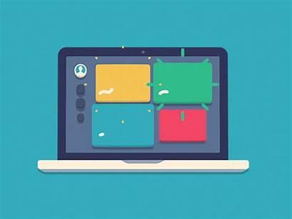 Laptop Dribbble Marketing Software Amination Hardware Gifs