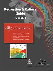 April 2016 Recreation & Culture Guide by CoLethbridge
