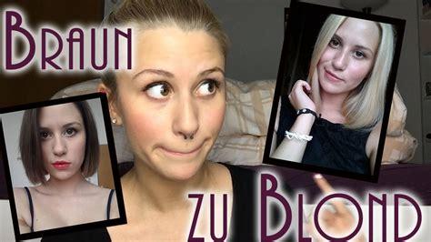braun zu blond braun zu blond vorher nachher meine erfahrung haar fail mylifeasnina
