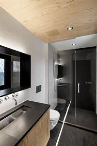 salle de bain avec mosaique noir With salle de bain mosaique noir