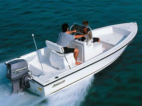 Center Console Boats For Sale With No Motor by Angler 170 Center Console W Trailer No Motor The Hull
