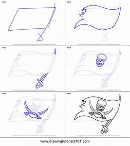 How To Draw Tampa Bay Buccaneers Logo Printable Step By
