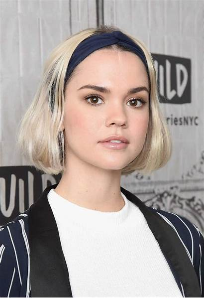 Maia Mitchell Aol Attends Nyc Build Added