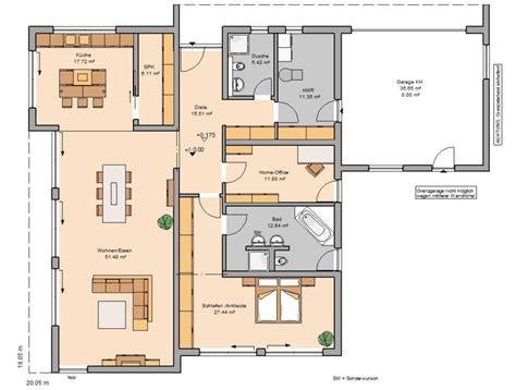 Bungalow Grundrisse Mit Doppelgarage bungalow bauen all ihre w 252 nsche auf einer ebene