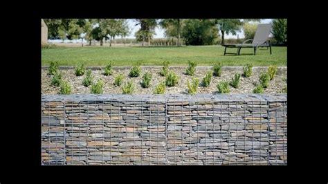 gabion retaining wall ideas uk youtube