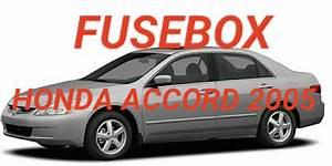 Letak Box Sekring Dan Relay Honda Accord 2005