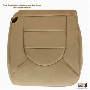 2000 Ford F250 F350 7 3l Lariat Driver Side Bottom Leather Seat Cover Tan