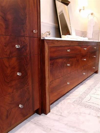 Mahogany Linen Vanity Tower Burl Cabinets Vanities