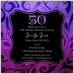 brilliant emblem 50th birthday invitations paperstyle