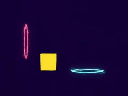 Portal Frame Glow Down Shake Square Dribbble