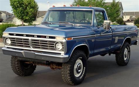 Daily Turismo: 10k: Truckin': 1975 Ford F 250 Ranger Highboy