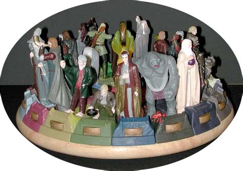 Amazon Com Burger King The Lord Of The Image Lord Of The Rings Burger King Toys 2001