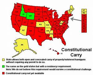 Constitutional Carry | OpenCarry.org
