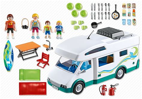 cuisine playmobil playmobil 6671 famille et cing car cavernedesjouets