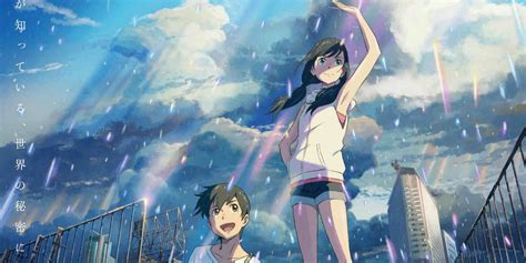 makoto shinkai pamer anime  tenki  ko weathering