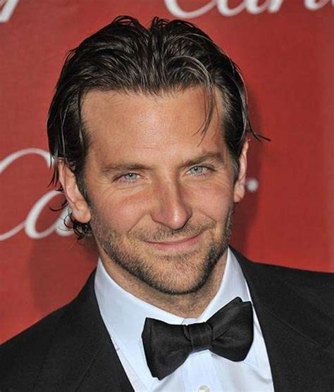 Bradley Cooper Long Hair Slicked Back Men
