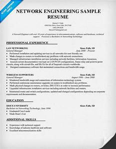 Programmer Resume Sample Network Engineering Resume Sample Resumecompanion Com