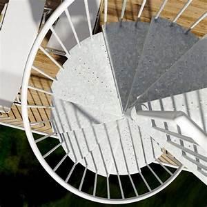 Escalier En Colimaçon : m talis large escalier colima on carr en acier pour l ~ Mglfilm.com Idées de Décoration