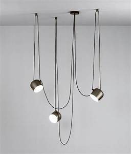 Aim the larger offset pendant by flos a dimmable version for Off set floor lamp