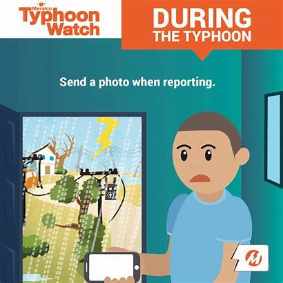 Safety During Tips Typhoon Meralco Typh