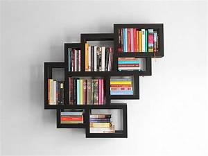 wall mounted bookshelf design – Plushemisphere