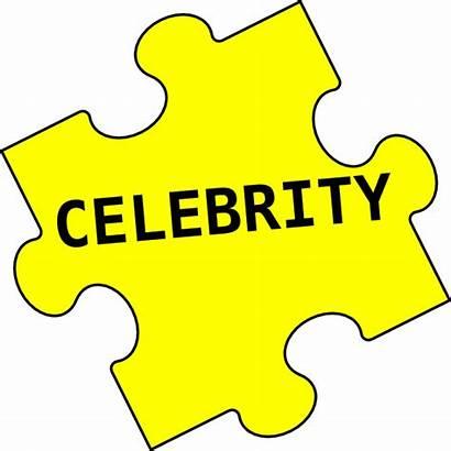 Celebrity Clipart Puzzle Clip Cliparts Famous Endorsement