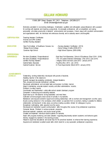 sle resume for paraprofessional position paraprofessional resume bralicious co