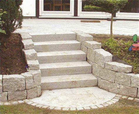 Granit Selber Flammen by Garten Stufen Mischungsverh 228 Ltnis Zement