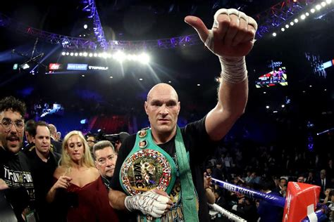 Tyson Fury Vs. Deontay Wilder 2: What's Next For The New ...