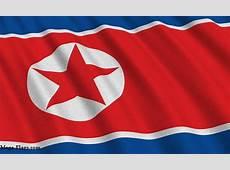 North Korea Flag image, North Korean Flag
