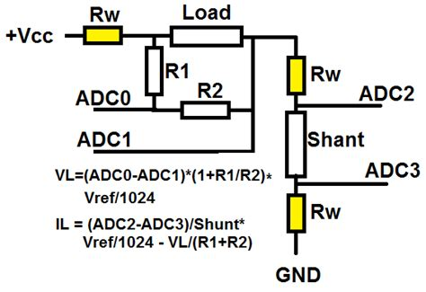 Arduino Current Sensing Over Wide Range Electrical