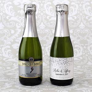 mini champagne labels a guide to choosing the right label With custom mini champagne bottle labels