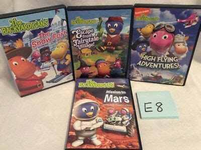 nick jr the backyardigans dvd lot high flying snow fort mission to mars e8 19 99 picclick