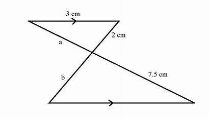 Problem Triangles Similar Sides Corresponding Geometry Questions