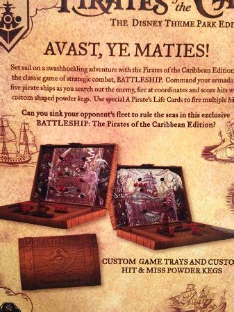 disney theme park game battleship pirates   caribbe
