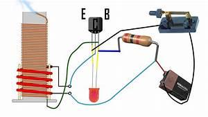 How To Make Mini Tesla Coil  Easy Circuit Explanation