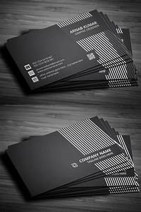 25, new, professional, business, card, psd, templates