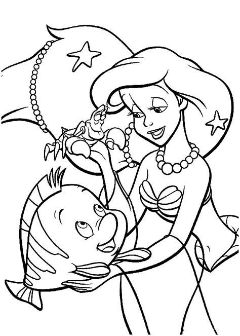 ariel   mermaid coloring pages  girls  print