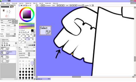 digital tutorial coloring in paint tool sai shouldn t