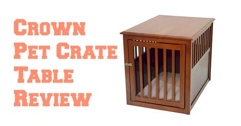 crown pet crate table wooden dog crates that look like furniture luxury crate