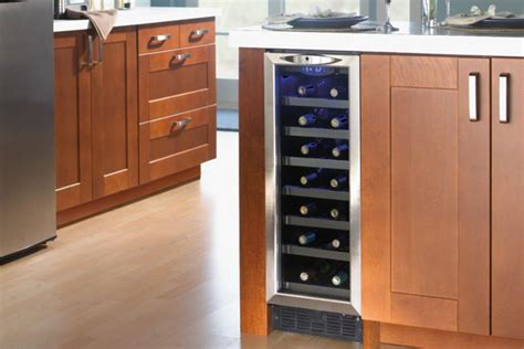 Small Bar With Refrigerator by What To Look For In Home Bar Refrigerators