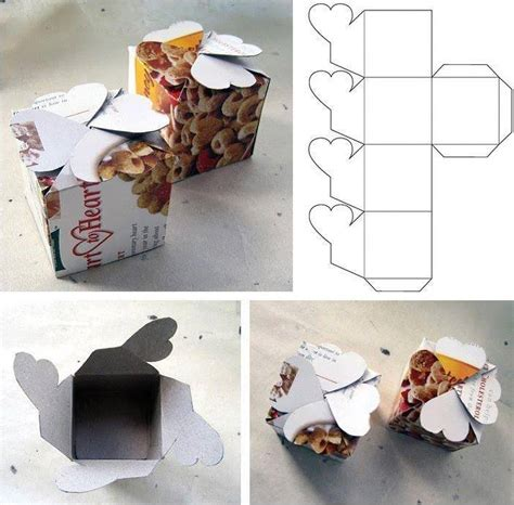 how to make simple cardboard gift packaging boxes step by