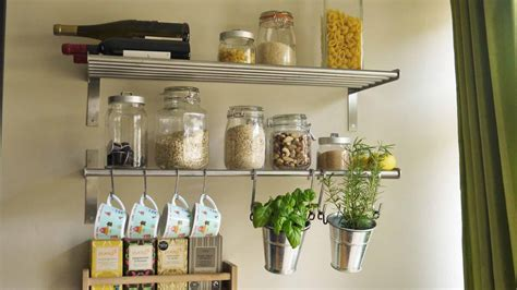 Stainless Steel Kitchen Shelving Units For Narrow Kitchen
