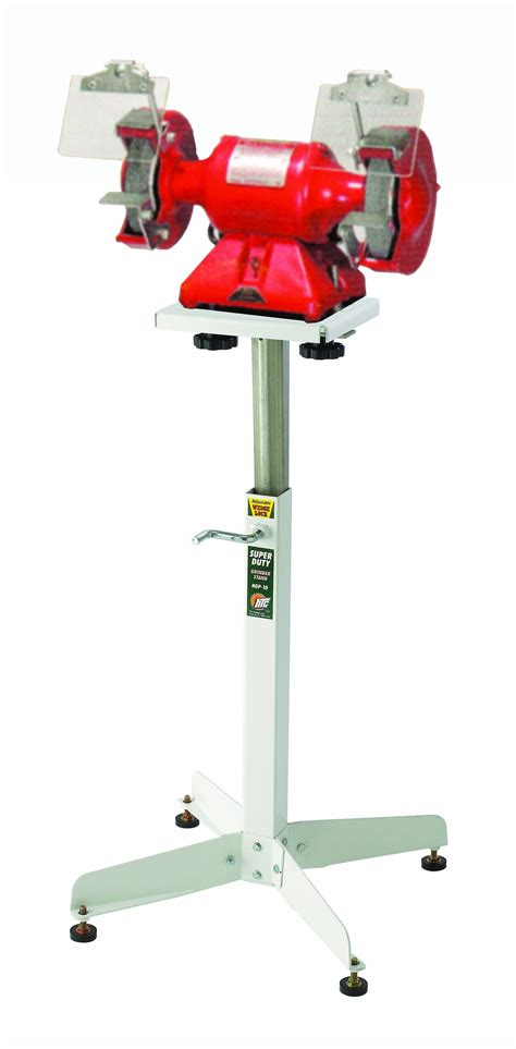 bench grinder stand bench grinder stand htc hgp 10 adjustable bench top