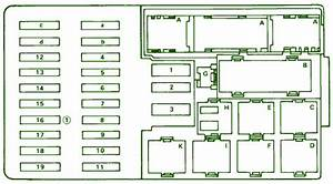 Fuse Box Diagram Mercedes Benz 420 Sel 1990
