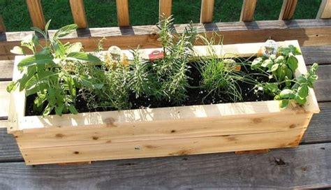 build  herb garden box wearefound home design