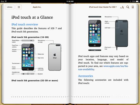 iphone 5c user guide apple releases official user guides for ios 7