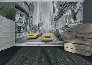 fototapete tapete new york taxi yellow cap manhattan nyc With balkon teppich mit tapete new york skyline