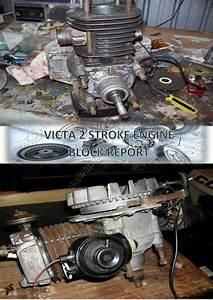 Victa 2 Stroke Engine Block Report