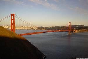 San Francisco Bilder : golden gate bridge br cke an der bay zwischen san ~ Kayakingforconservation.com Haus und Dekorationen